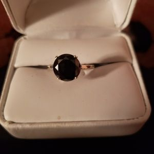100 % real 2.46 ct black diamond